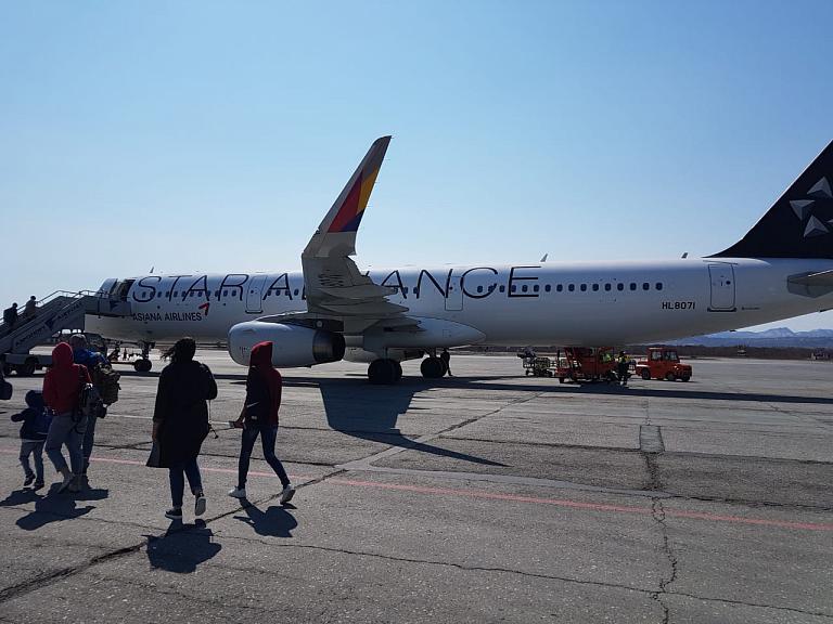 Фотообзор авиакомпании Азиана Эйрлайнз (Asiana Airlines)