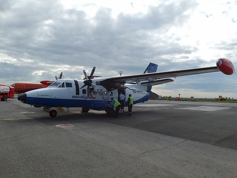 Фотообзор полета на самолете Let L-410