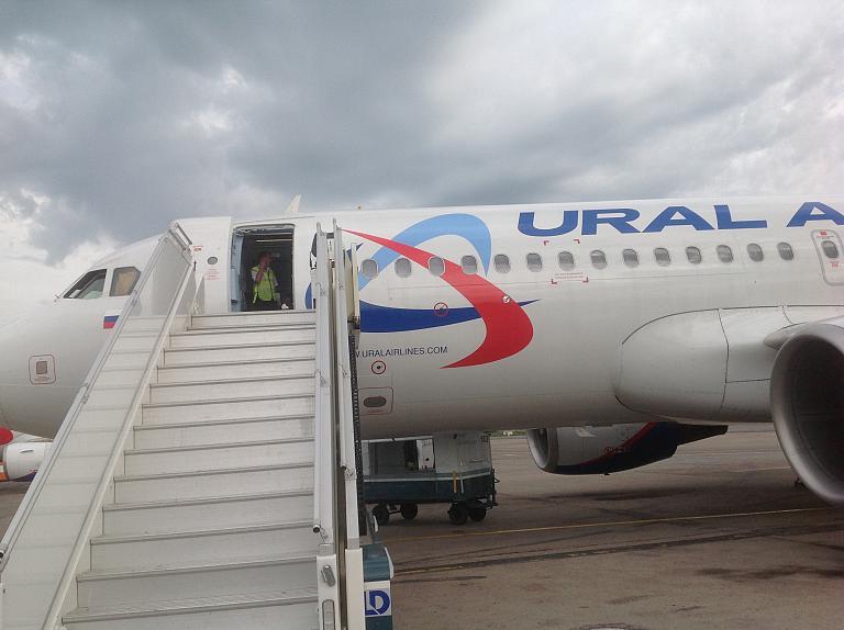Москва-Иркутск с Уральскими авиалиниями