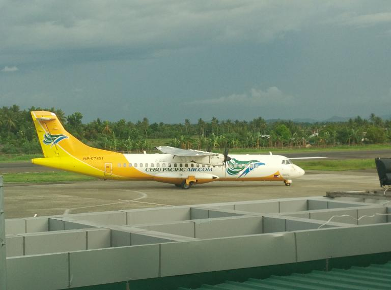 Филиппинская маршрутка или перелет Калибо (KLO) - Манила (MNL)