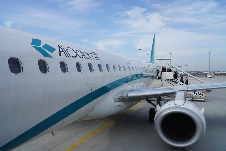 Фотообзор авиакомпании Эйр Доломити (Air Dolomiti)