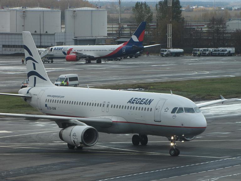 Вояж на край Европы. Часть 1 Москва- Афины Aegean airlines