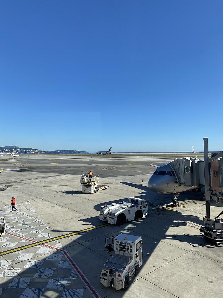 Ницца (Aéroport Nice Côte d'Azur) - Москва (Шереметьево - Е) Аэрофлот - Эконом класс на Airbus A320