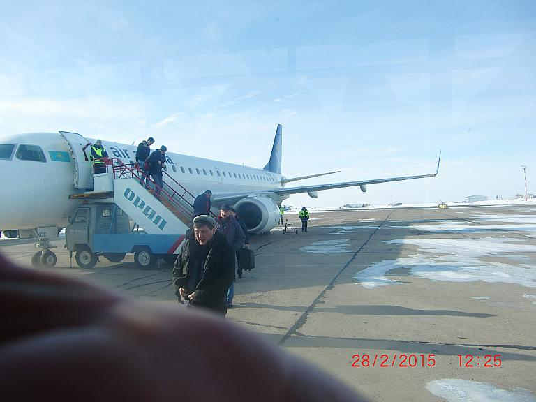 ALA -  URA - ALA: из южной весны в суровую уральскую зиму и обратно на Эмбраере-190 AirAstanы