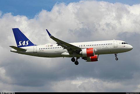 Фотообзор авиакомпании САС - Скандинавские Авиалинии (SAS - Scandinavian Airlines)