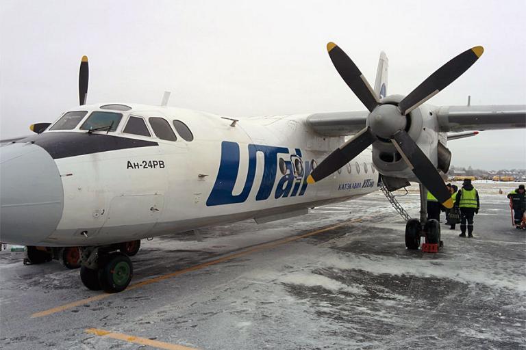 Фотообзор полета на самолете Антонов Ан-24