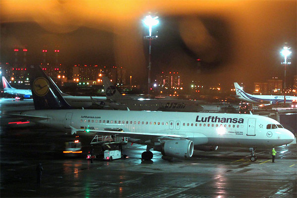 Lufthansa: приключение во Франкфурте