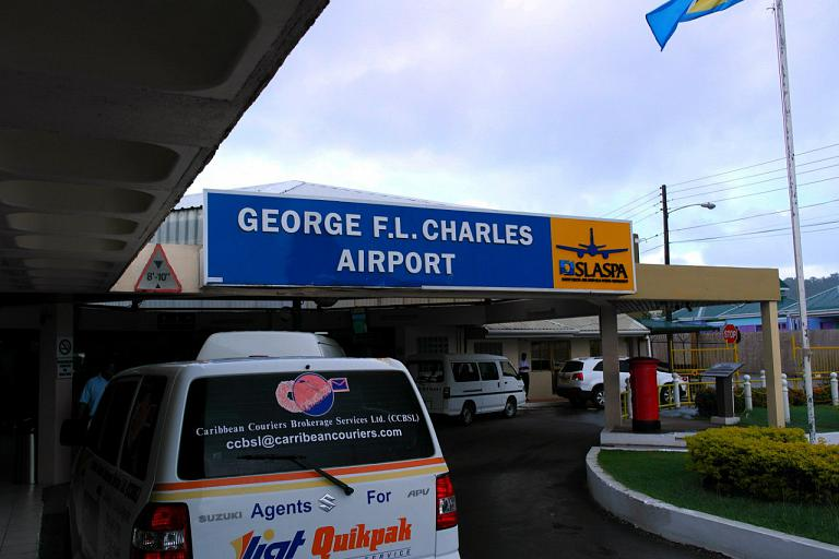 Аэропорт Кастри Джордж Чарльз (Castries George F. L. Charles Airport)