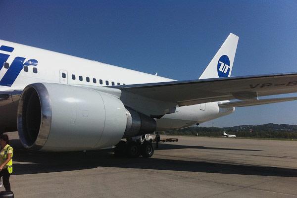 Фотообзор полета на самолете Boeing 767-200