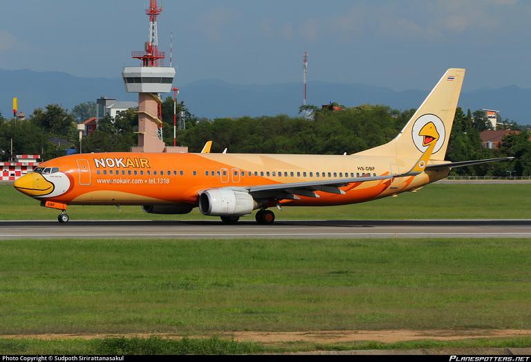 Фотообзор авиакомпании Нок Эйр (Nok Air)
