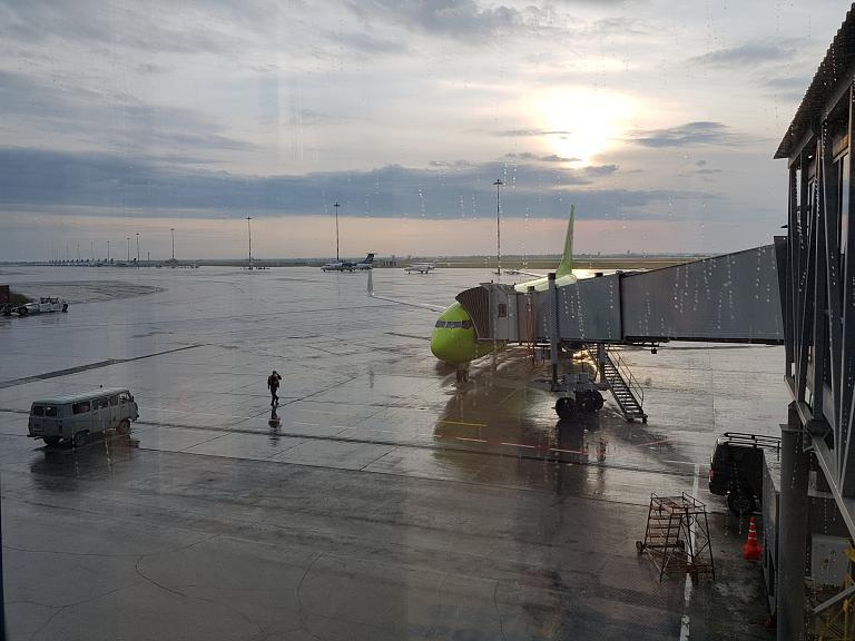 Якутск - Новосибирск. Рейс S7 3252.