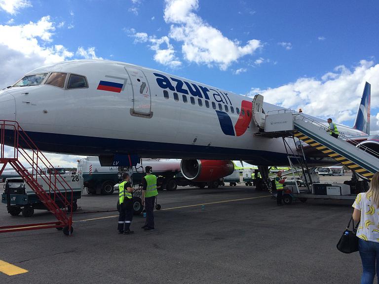 Москва (DME) - Сочи (AER) c авиакомпанией Azur Air