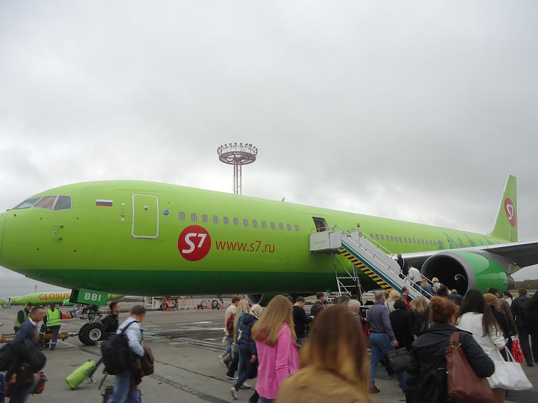 На большом зелёном самолёте из Москвы в Верону