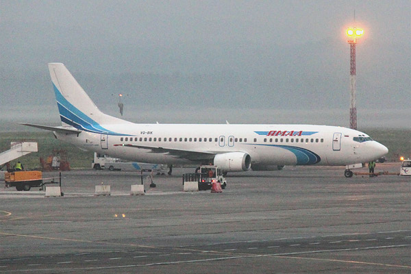 В Москву на ямальском Боинге-737-400