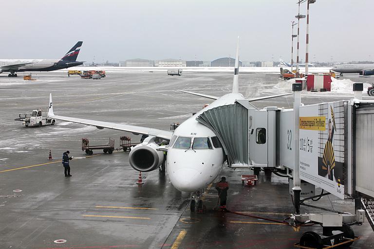 Новогоднее путешествие в страну тысячи озёр. Часть 3, Хельсинки(HEL)-Москва(SVO) с Finnair на Embraer 190 (E-190)