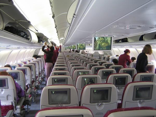 World's 5-star airline (Qatar Airways) Рейс Астана-Абу-Даби-Доха!