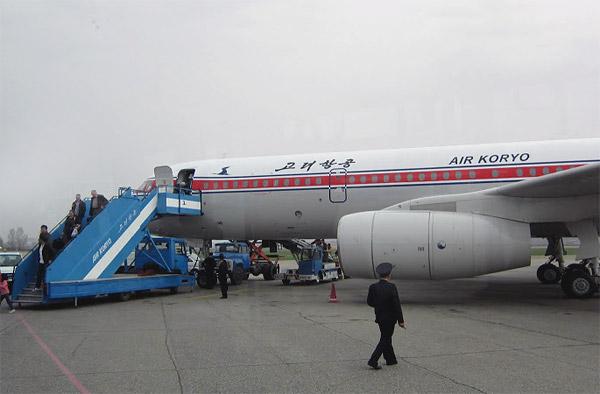 Пекин-Пхеньян на корейском Ту-204