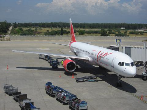 ВИМ-авиа Flight Report
