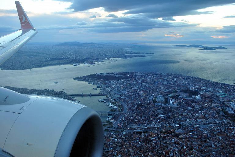 Widen Your World: трансазиатский перелёт с лучшей авиакомпанией Европы. Москва (VKO) - Стамбул Ататюрк (IST) на Boeing 737-800 Turkish Airlines