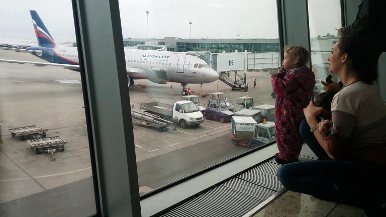 Москва - Екатеринбург на А320 Аэрофлота: новый самолёт