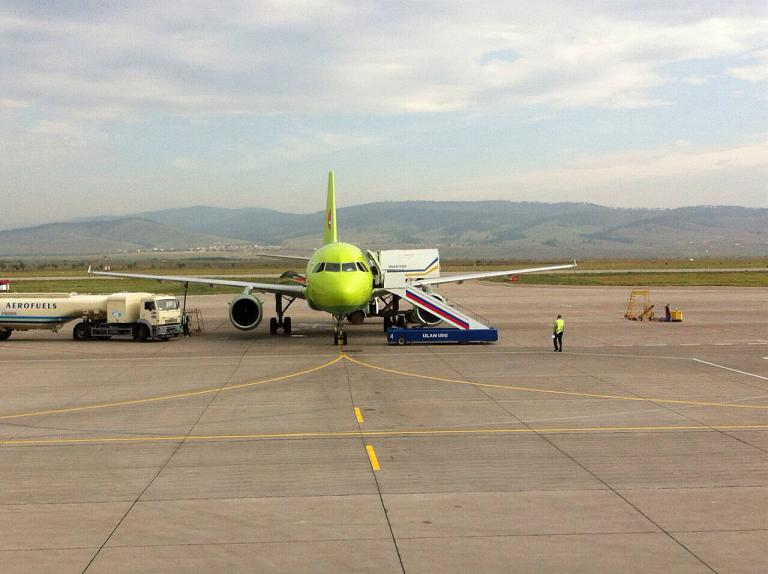 S7 Airlines. Рейс S7116 Улан-Удэ-Москва.