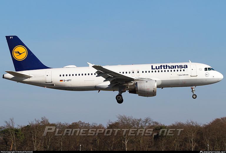 Франкфурт (FRA) - Рига (RIX) на Airbus A320 авиакомпании Lufthansa (121 фото)
