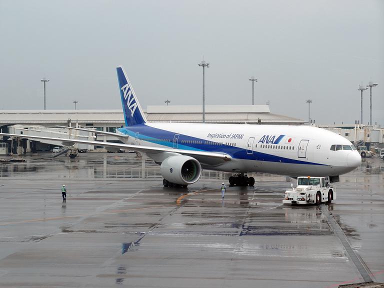 Окинава (Наха) - Токио (Ханеда) с ANA - Большое путешествие в Японию, часть 5