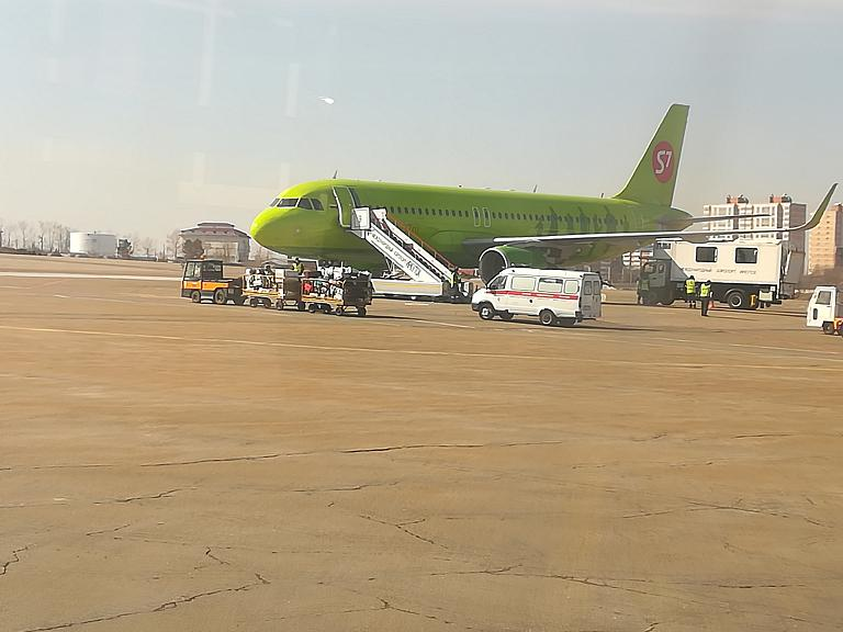 Во Вьетнам. Часть 1. Irkutsk (IKT) - Bangkok (Suvarnabhumi, BKK) с S7 Airlines на А-320