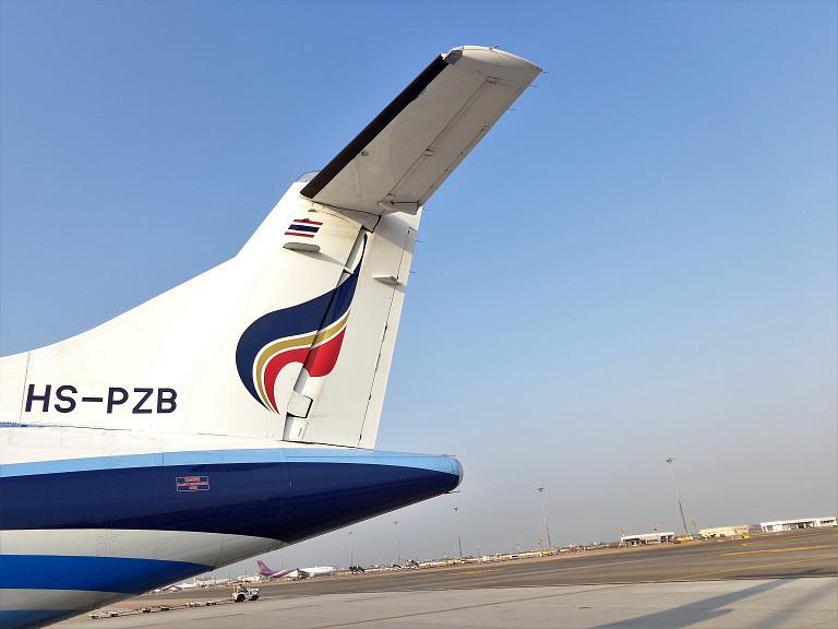В гости к кхмерам. Часть 2 - Bangkok (Suvarnabhumi - BKK) - Siem Reap (Rep) c Bangkok Airways на ATR-72-600