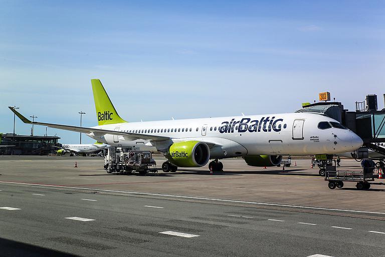 Москва-Рига на Airbus A220-300 airBaltic