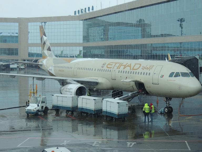 Москва - Абу-Даби c Etihad Airways