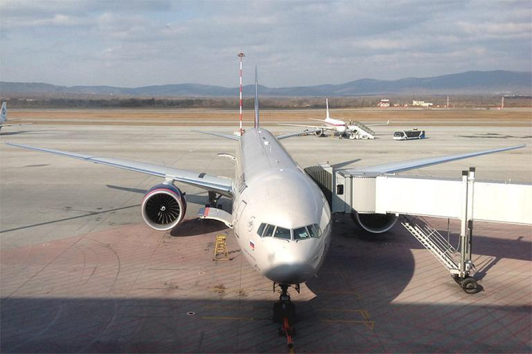 Перелет из Владивостока в Москву на боинге 777 Аэрофлота