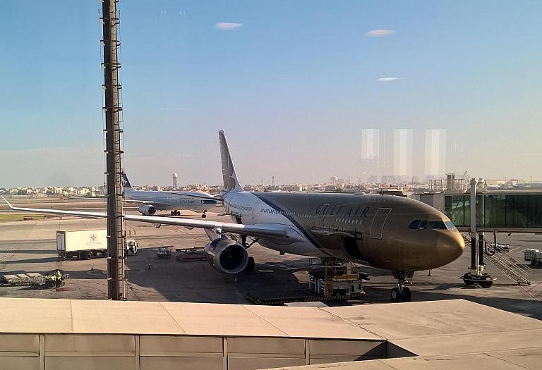 Gulf Air: DME-BAH-BKK + ночная стыковка в Манаме. Как это делают в Бахрейне. Часть 2.