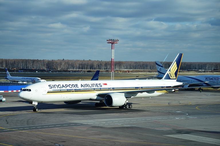 A great way to fly. Рейс SQ 61 Москва Домодедово (DME) - Сингапур Чанги Т3 (SIN) с Сингапурскими Авиалиниями.