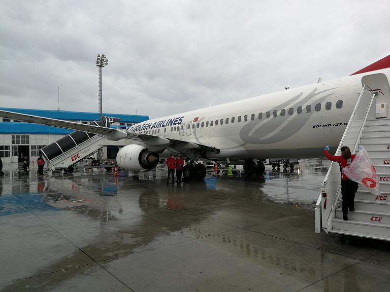 Новый аэропорт Стамбула - Анталия
