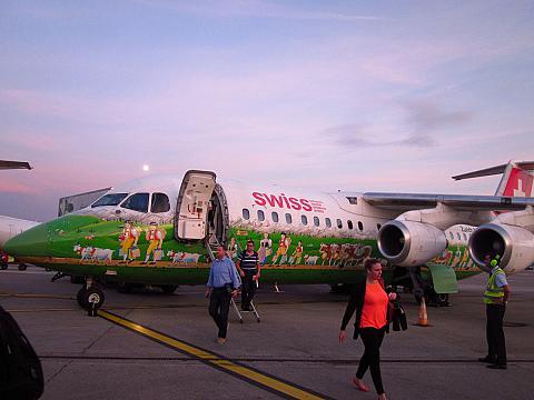 Flight reports of BAe Avro RJ