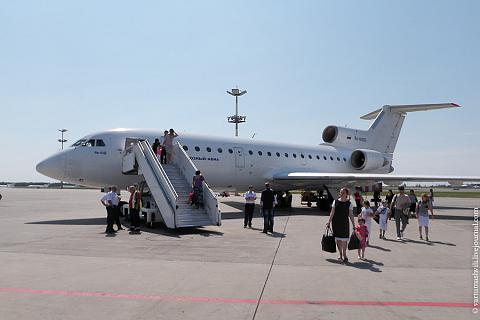Flight reports of Yakovlev Yak-42