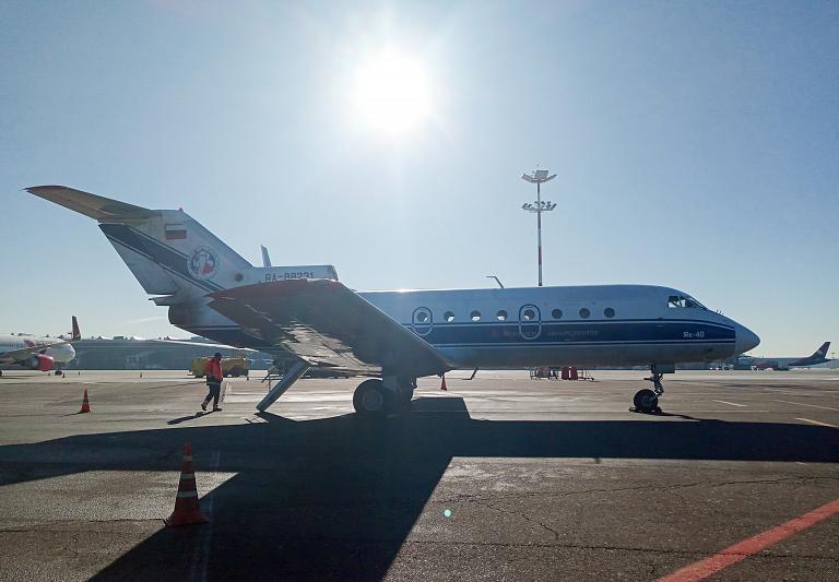 Вологда - Москва, Як-40, RA-88231, Вологодское авиапредприятие