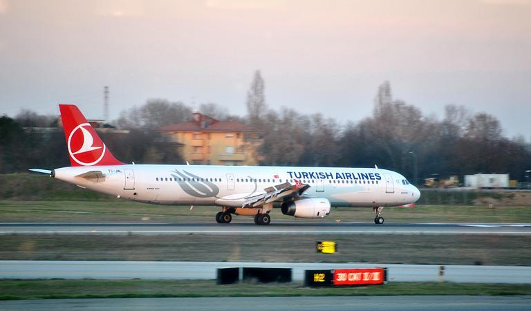Widen Your World: открывая Америку с лучшей авиакомпанией Европы. Болонья (BLQ) - Стамбул Ататюрк (IST) на Airbus A321 Turkish Airlines