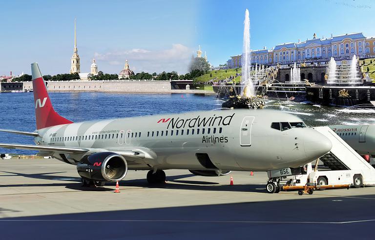 Путешествие из Петербурга в Москву на Boeing 737-800 Nordwind