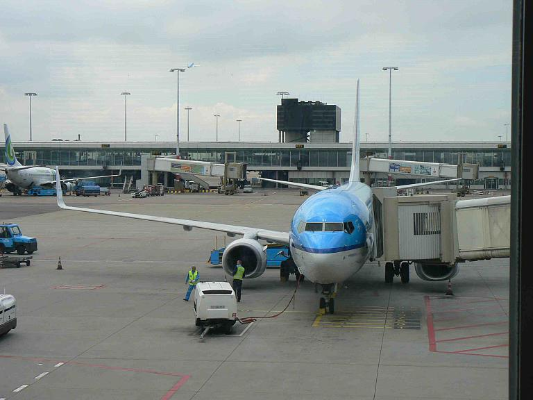 Москва(SVO-E)-Амстердам-Барселона и обратно. Май 2014. KLM