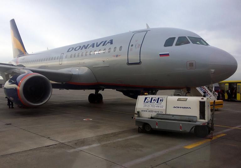 Фотообзор авиакомпании Донавиа (Donavia)
