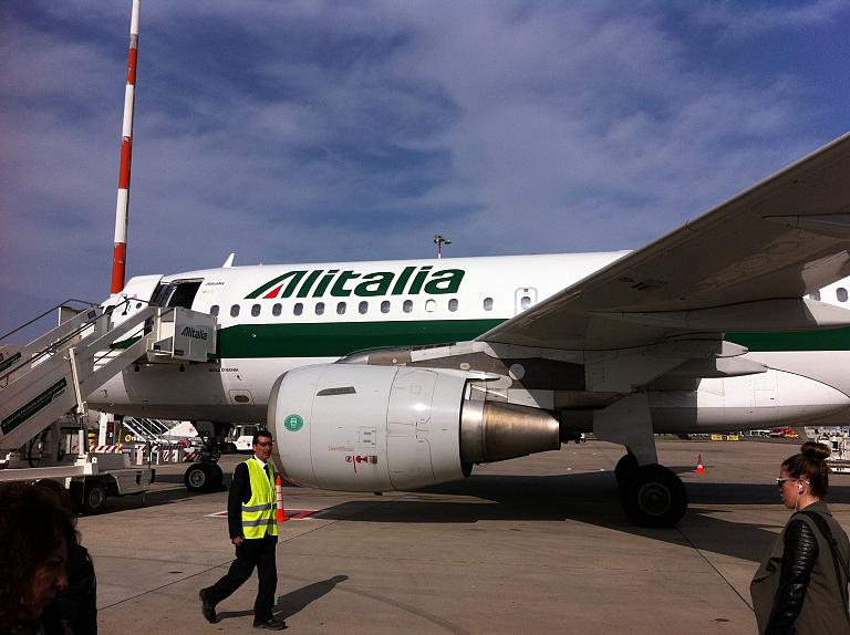 Перелет из Москвы во Флоренцию: Часть вторая. Рим-Флоренция с Alitalia