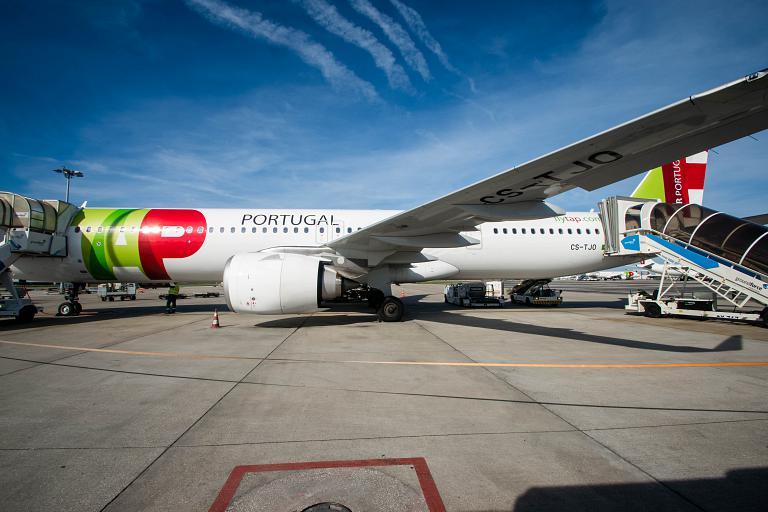 De braços abertos. Лиссабон - Вена TP1274 в бизнес-классе A321neo TAP Air Portugal