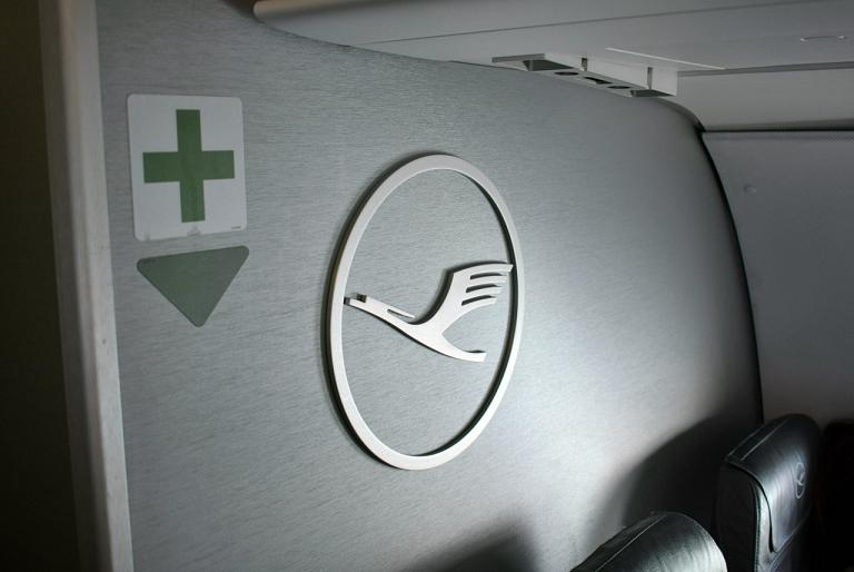 Впервые в экономе Lufthansa