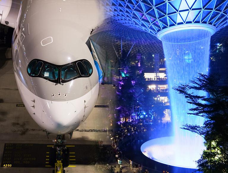 Роскошные A350-ки Qatar Airways и Qsuite бизнес класс до Сингапура