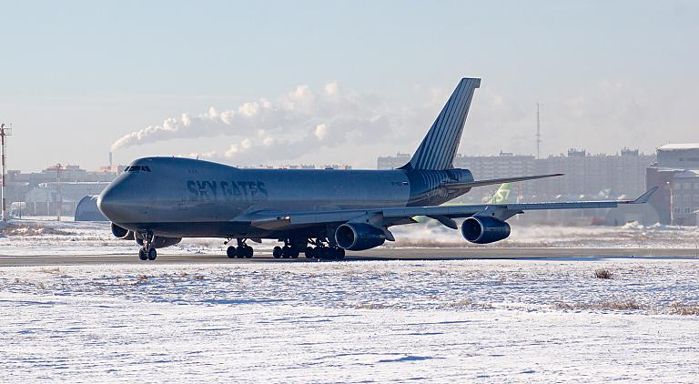 25.12.20 Boeing 747-4F Sky Gates в Иркутске