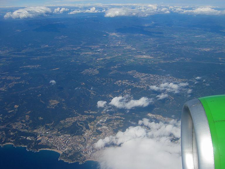 Из Москвы в Барселону. S7 Airlines, рейс S7 891