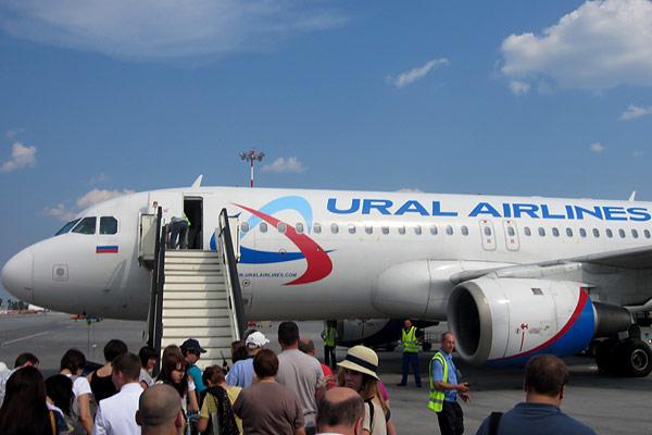 Екатеринбург-Салоники с Уральскими авиалиниями