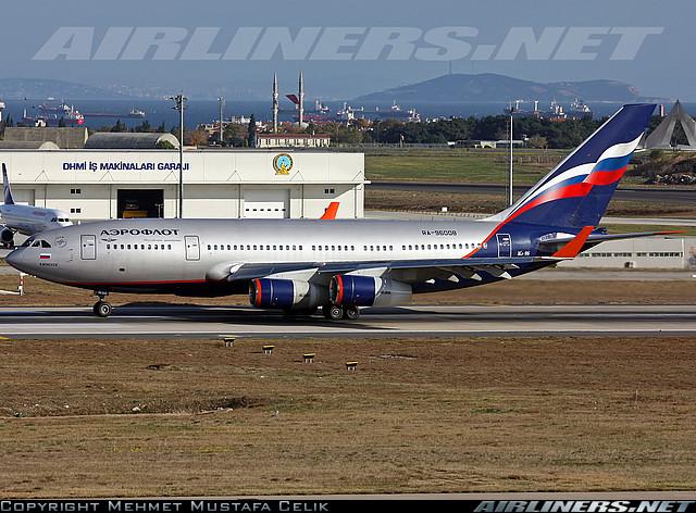 Фотообзор полета на самолете Ильюшин Ил-96